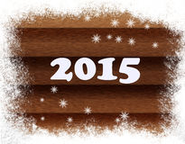 New year 2015. Symbol of the new year 2015 Royalty Free Illustration