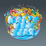 New Year Tag stock image