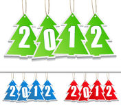 New Year Tags. Illustration of New Year Tags stock illustration