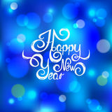 New year text Stock Images