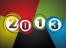 New Year theme abstraction. Clip-art Royalty Free Stock Image