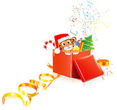 New-Year-tiger Royalty Free Stock Images
