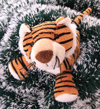 New-year tiger cub. Royalty Free Stock Photos