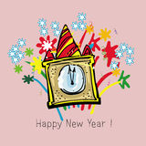 New year times. Color Stock Photo