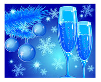 New year toast Royalty Free Stock Images