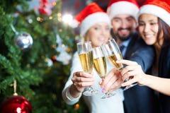 New Year toast Royalty Free Stock Photos