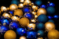 New year toy balls Stock Image