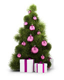 New_Year_tree_01 Stock Photography