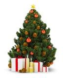 New_Year_tree_02 Stock Photo