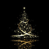 New year tree Royalty Free Stock Images