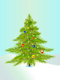 New-year tree Stock Photography