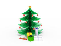 New Year tree Stock Images