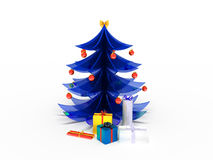 New Year tree Stock Photography