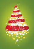 New Year tree 2013 Royalty Free Stock Photo