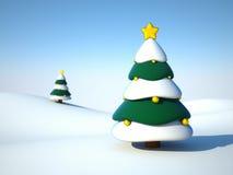 Free New Year Tree Royalty Free Stock Photos - 3539188
