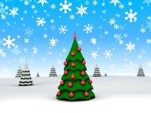 New-year tree Royalty Free Stock Photography