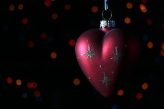 New-Year tree decorations Royalty Free Stock Photography