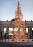 New Year tree at Gorky park. Moscow. Stock Photo