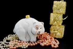New year tree toys Stock Photos