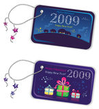 New year trinket tags 2009. To see similar, please VISIT MY GALLERY Royalty Free Illustration