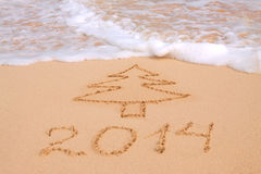 New Year 2014. Royalty Free Stock Images