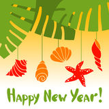 New year in the tropics Stock Images