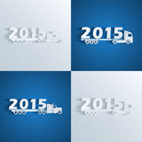 New year truckd Stock Photography