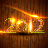 New year vector Stock Image