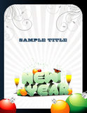 New year vector Royalty Free Stock Image