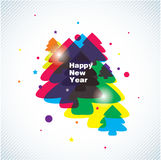 new year vector background Stock Photos