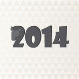 2014 new year. Vector background Royalty Free Stock Image