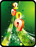 New year vector composition Stock Images