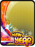 New year vector composition Stock Photography