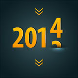 New year 2014. Vector illustration of New year 2014 vector illustration