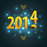 2014 New year. Vector illustration of 2014 New year vector illustration
