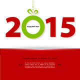 2015 New year. Vector illustration (eps 10) of 2015 New year Vector Illustration