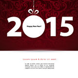 2015 New year. Vector illustration (eps 10) of 2015 New year Royalty Free Stock Photos