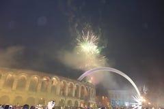 New Year in Verona Stock Photography