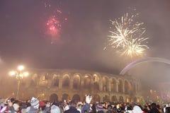 New Year in Verona Stock Photos