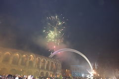 New Year in Verona Royalty Free Stock Photography