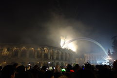 New Year in Verona Stock Images