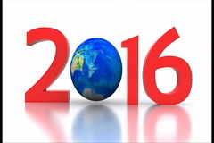 New year 2016 stock video footage