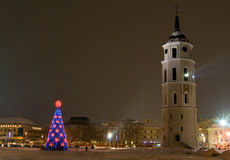 New Year In Vilnius Stock Images
