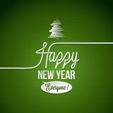 New year vintage background Stock Image