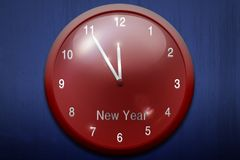 New Year watch Royalty Free Stock Photography