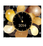 New Year Watch Stock Image