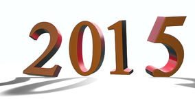 New Year 2015 stock video footage