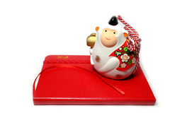 New year white monkey on the 2016 schedule book Stock Images