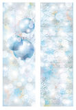 New year winter banners Stock Photos