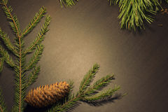 New year wooden background Stock Images